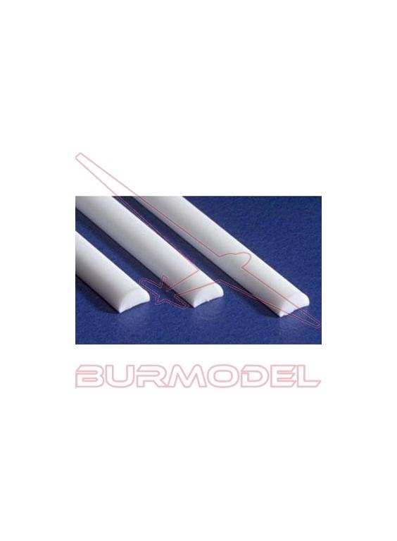 Media caña 2.0 x 350 mm (4 pzas.)