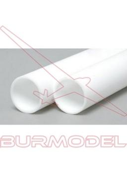 Tubo redondo 2.4 x 350 mm ( 6 pzas.)