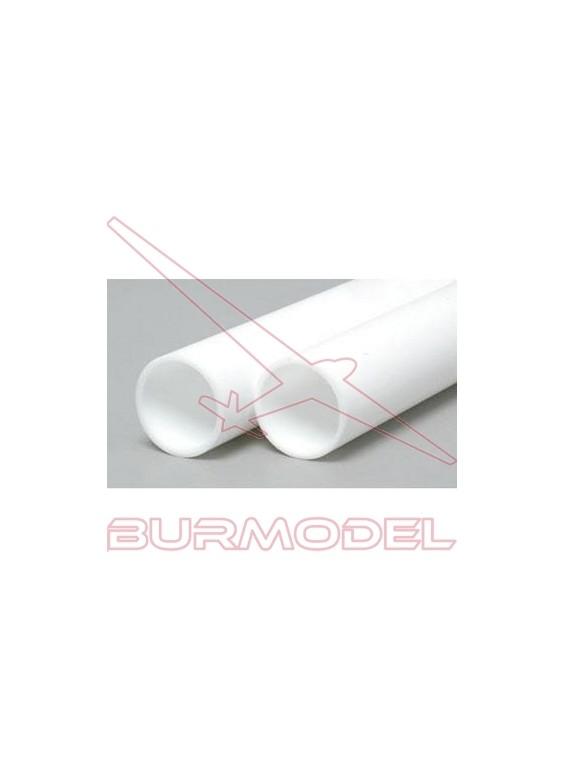 Tubo redondo 6.3 x 350 mm (3 pzas.)