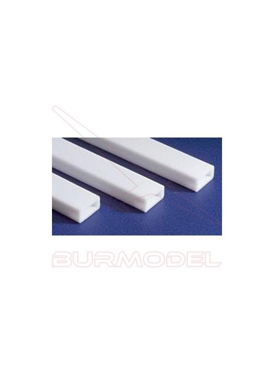 Tubo rectangular 3.2 x 6.3 x 350 mm (3 pzas.)