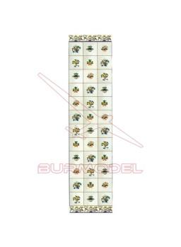 DM Baldosa floreros 17.5x28