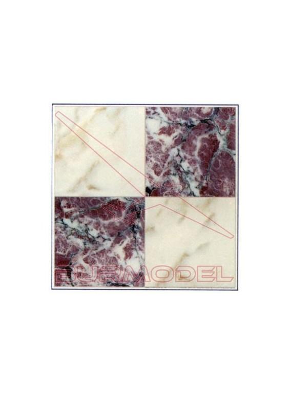 DM Marmol lila blanco 24.5x14