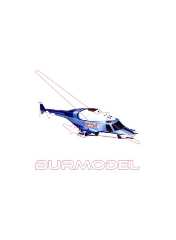 Fuselaje azul para Walkera 62543