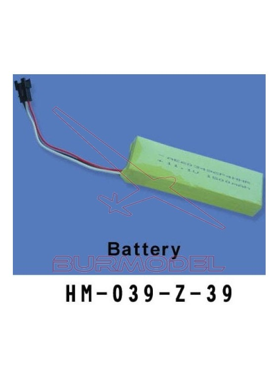 Batería 11.1 V 1500 mAh walkera 62039