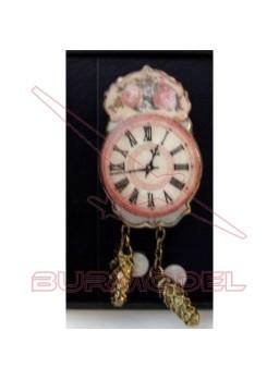 Reloj de porcelana. Escala 1:12