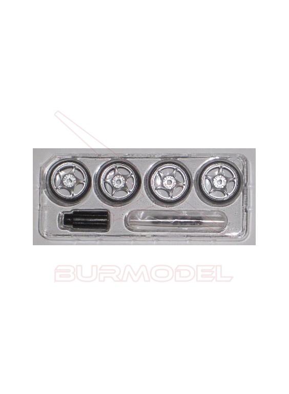 Set ruedas X-mods