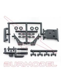 Bumper delantero y pzas. plástico Lazer ZX-5/TF5