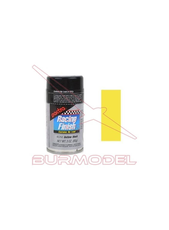 Spray Pactra RC257 Amarillo daytona