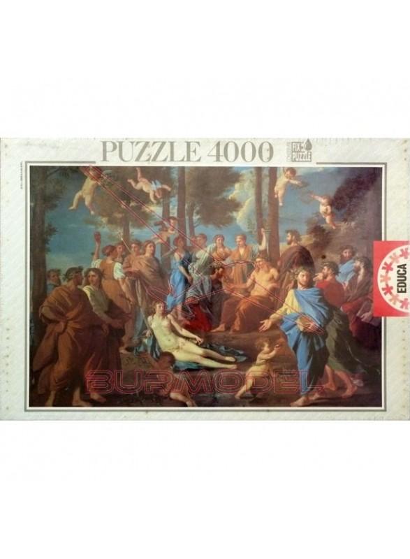 Puzzle 4000 piezas. Le Parnasse.