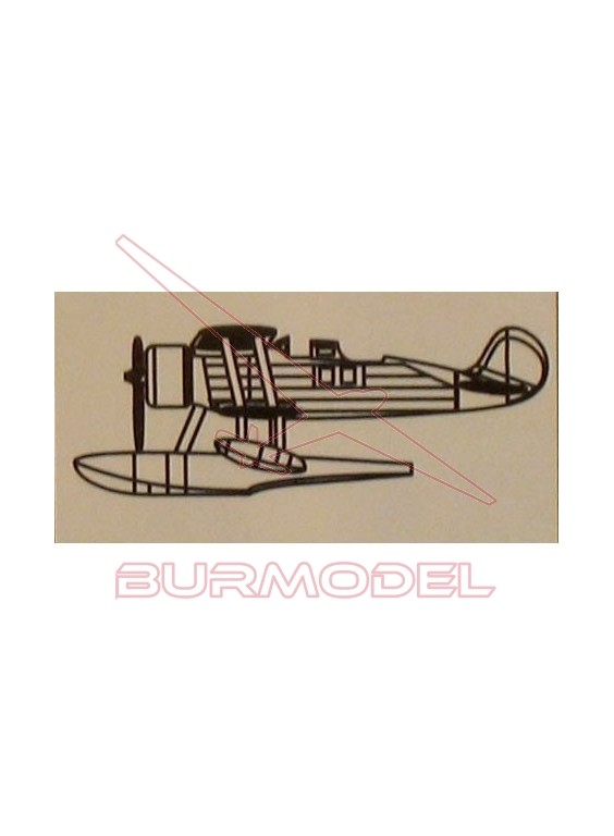 Maqueta avión Mini Craft F-5G 1/350