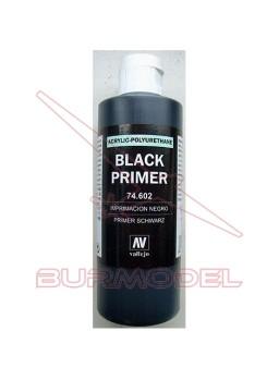 Imprimación negra Vallejo 200 ml