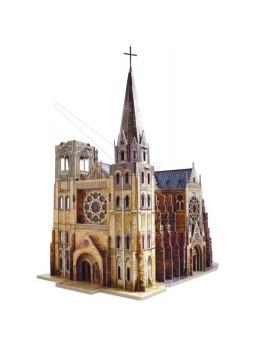 Maqueta papel Catedral gótica