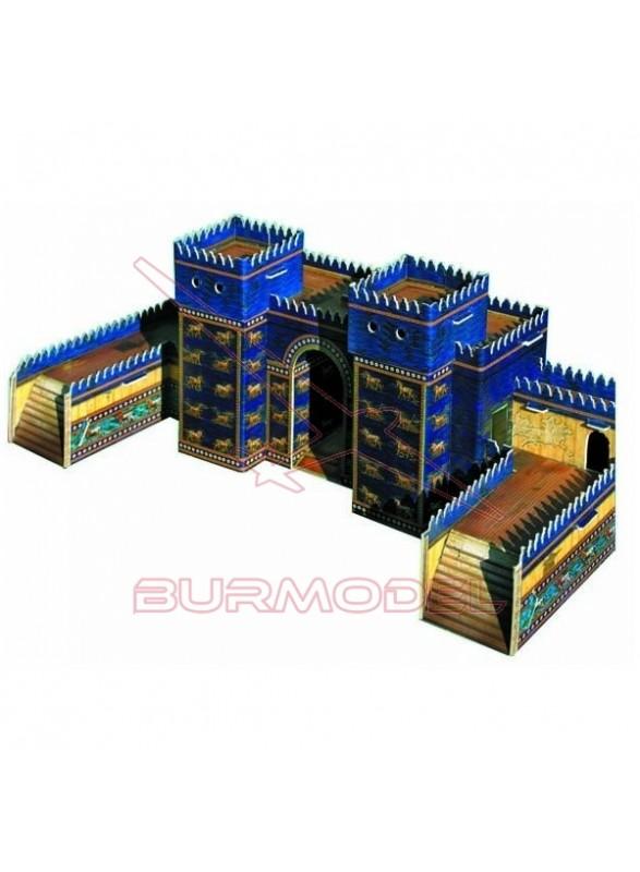 Maqueta papel Puerta de Ishtar (Babilonia)