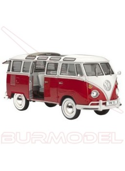 "Maqueta Volkswagen T1 ""SAMBA BUS""'62"