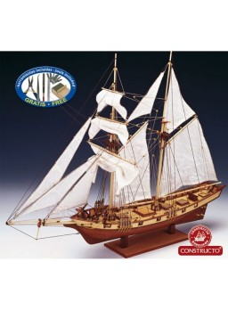 Barco de madera Albatros 1/55