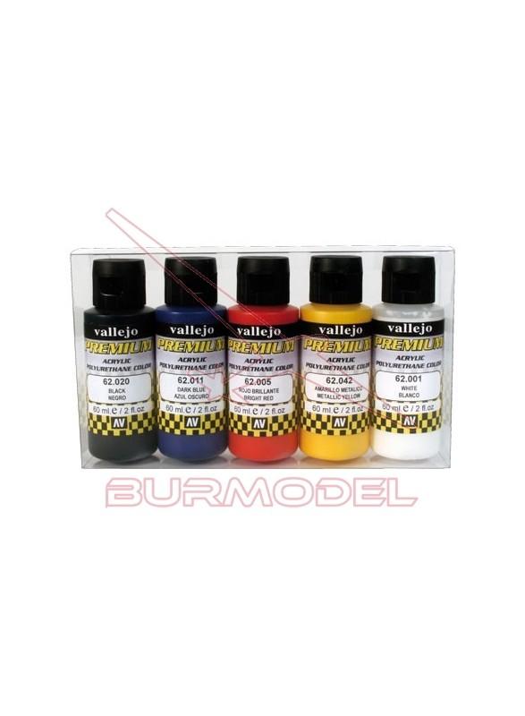 Pintura Vallejo Premium básicos Opacos