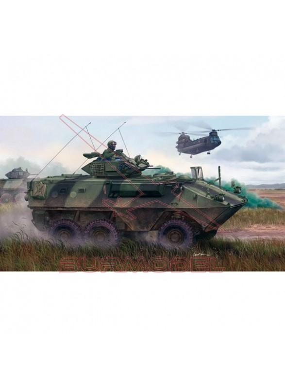 Maqueta Tanque GRIZZLY 6X6 APC 1:35