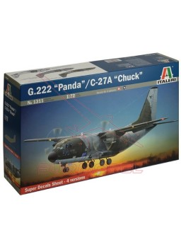 Maqueta avión de transporte G.222 1:72
