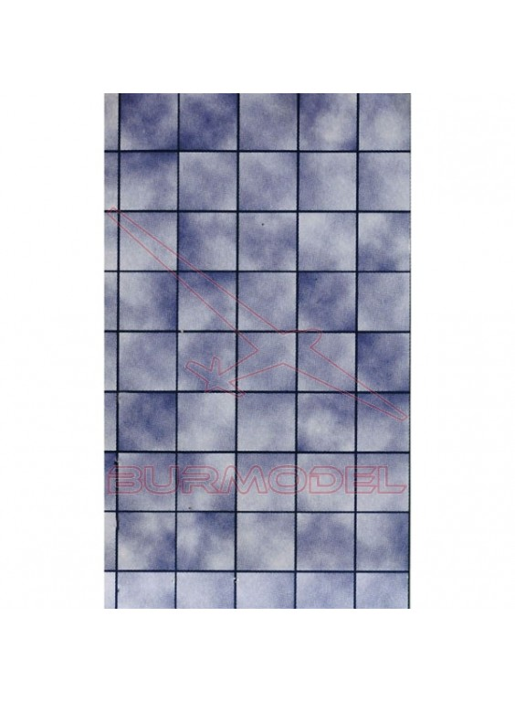 Baldosas mármol azul