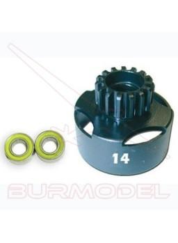 Campana embrague ventilada 14 T + rodamientos