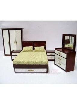 Dormitorio completo 5 piezas