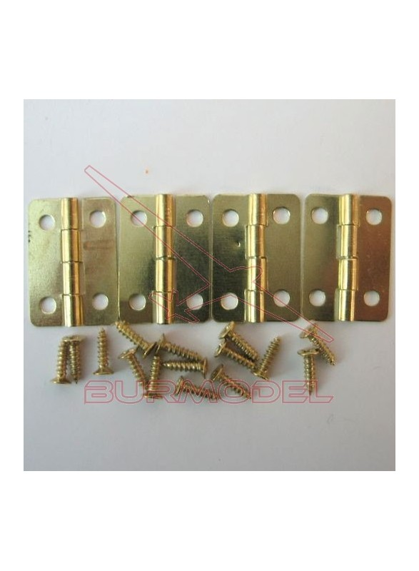 Bisagra 24x16 4 piezas