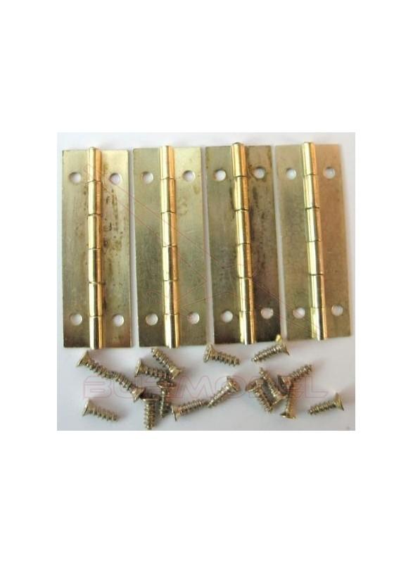 Bisagra 42x14mm 4 piezas