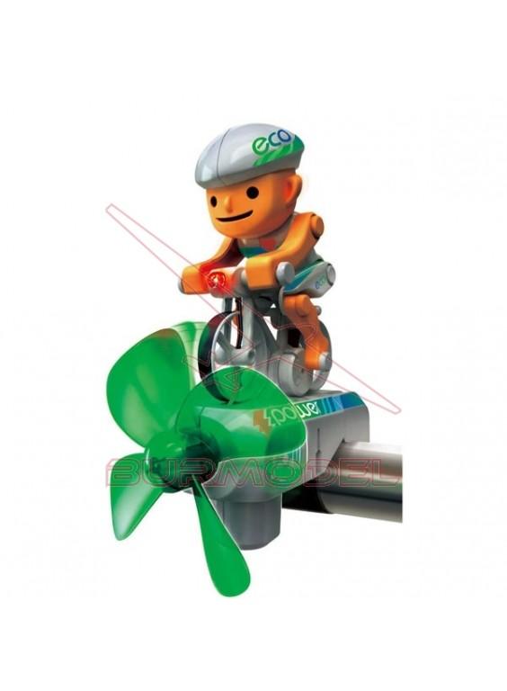 Aerogenerador eco-biker en kit