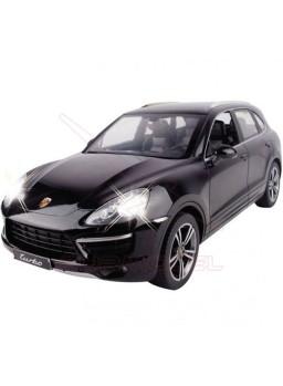 Coche rc Porsche Cayenne Turbo negro 1:14