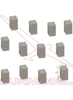 Columna cuadrada pequeña 15x7 (50 und)