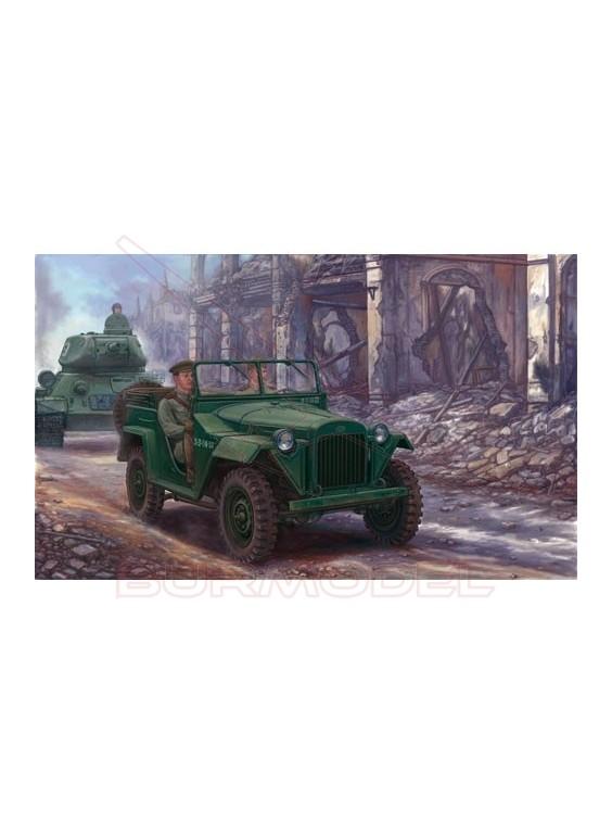 Maqueta vehículo Soviet Gaz-67B Military Vehicles