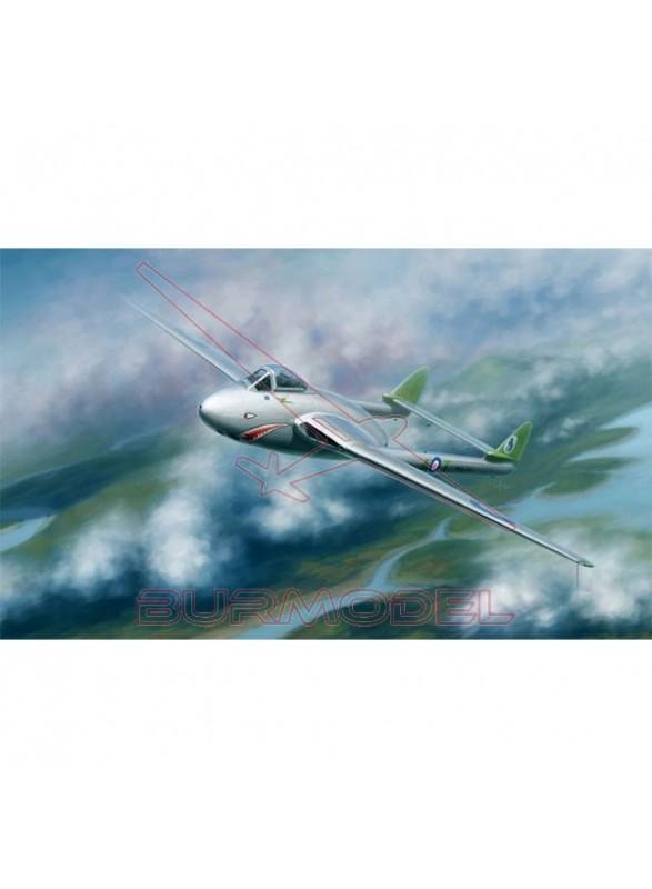 Maqueta avión Vampire FB. Mk.5 1:48