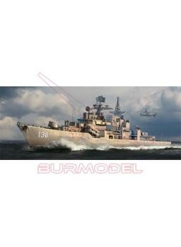 Maqueta barco Plan DDG-138 Taizhou 1:350