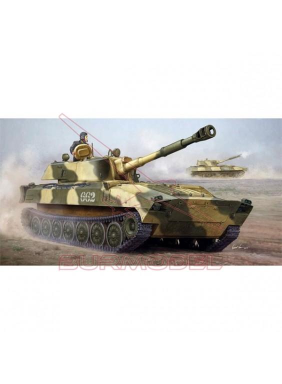 Maqueta tanque ruso 2S1 obús autopropulsado 1/35