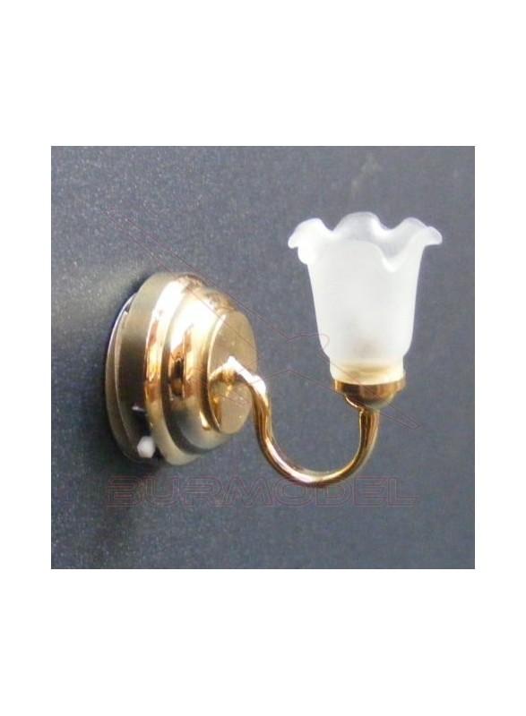 Aplique para casitas luz led