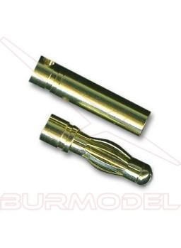 Conector PK 3,5 mm oro m/h