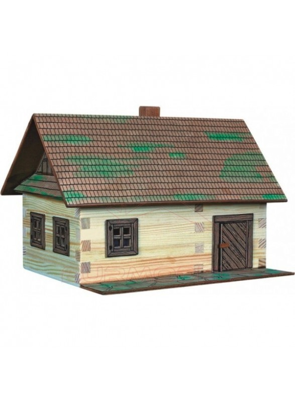 Maqueta Casa de campo para niños