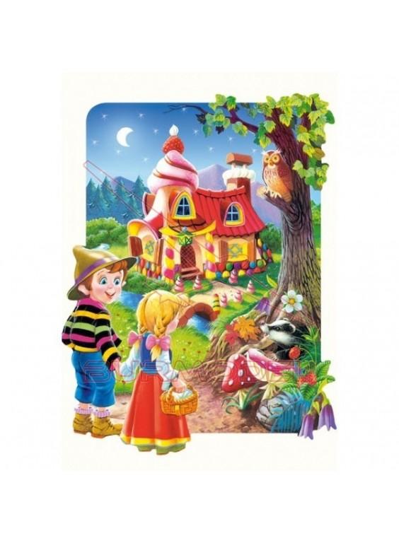 Puzzle Hansel y Gretel (20 piezas maxi)
