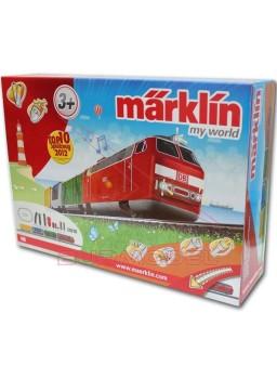 Kit iniciación modelismo ferroviario para niños.