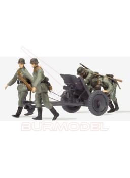 Soldados a escala HO. 1939-1945 3,7 cm