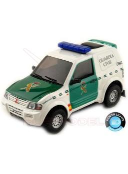 Coche slot Mitsubishi Pajero Guardia Civil