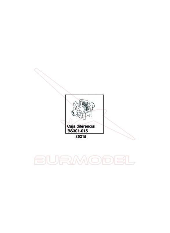 Caja diferencial del bsd racing escala 1/16 85311
