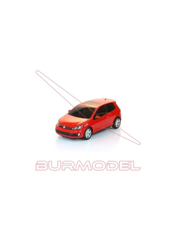 Volkswagen Golf GTI Rojo 27 Mhz 1:24