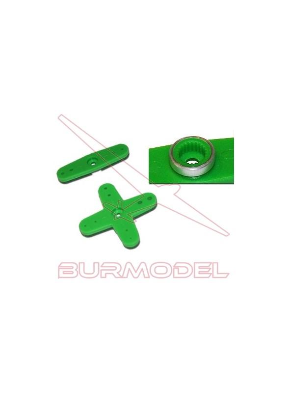 Horn plástico Futaba verde