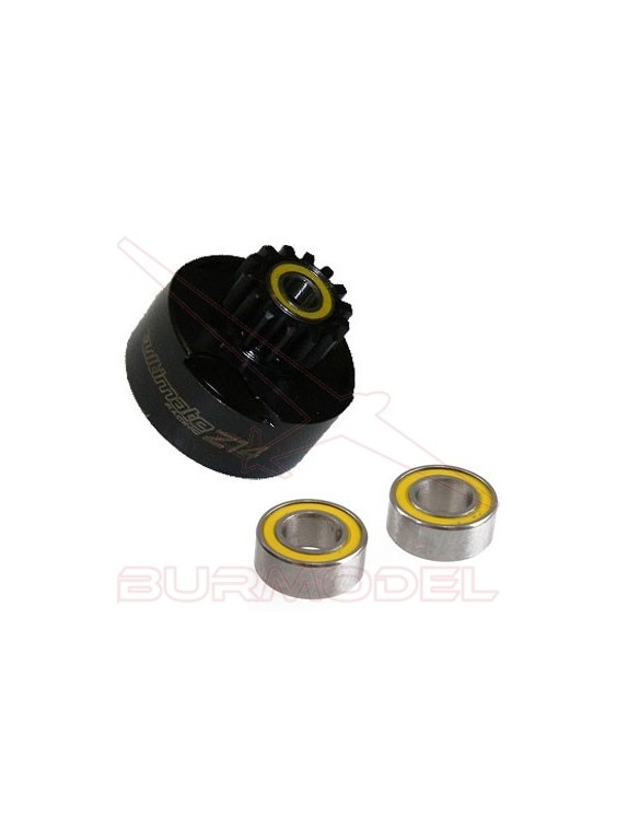 Campana embrague ventilada 14T + rodamientos