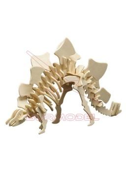 Dinosaurio de madera para montar