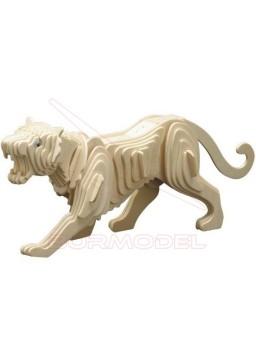 Tigre para construir en madera