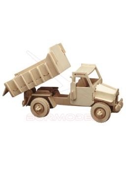 Camión para montar en madera