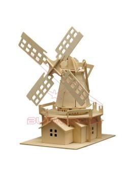 Molino de madera para montar