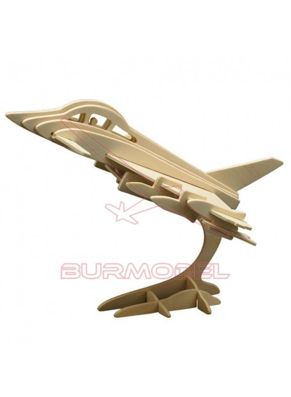 Maqueta avión para montar en madera